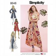 8648 Simplicity Pattern: Misses' Duster in Two Lengths